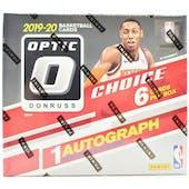 2019/20 Panini Donruss Optic Choice Basketball Hobby Box