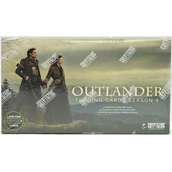 Outlander Season 4 Trading Cards Box (Cryptozoic 2020)