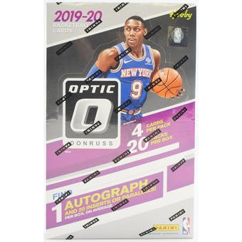 2019/20 Panini Donruss Optic Basketball 12-Box Case- DACW Live 30 Spot Random Team Break #3