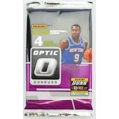 2019/20 Panini Donruss Optic Basketball Hobby Pack