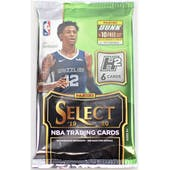 2019/20 Panini Select Basketball Hobby Hybrid Pack