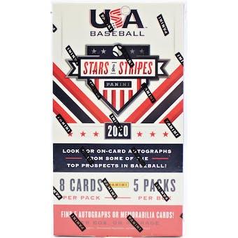 2020 Panini Stars & Stripes Baseball Hobby Box