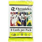 2020 Panini Chronicles Draft Picks Football Hobby Pack
