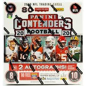 2020 Panini Contenders Football Fanatics Mega Box