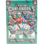 2019 Panini Contenders Football 11-Pack Blaster Box (Lot of 3)