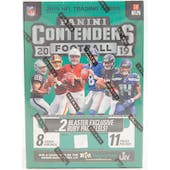 2019 Panini Contenders Football 11-Pack Blaster Box