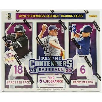 2020 Panini Contenders Baseball Hobby Box