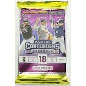 2020 Panini Contenders Baseball Hobby Pack