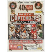 2020 Panini Contenders Football 5-Pack Blaster Box