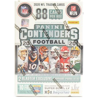 2020 Panini Contenders Football Fanatics Blaster Box