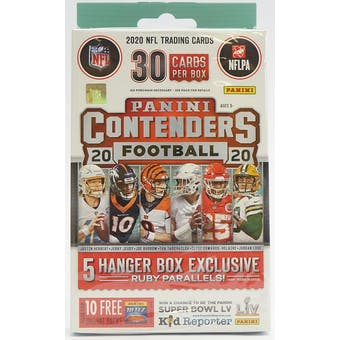 2020 Panini Contenders Football Hanger Box