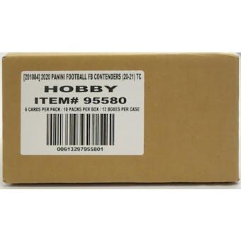 2020 Panini Contenders Football Hobby 12-Box Case