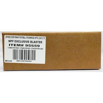 2020 Panini Donruss Optic Football 6-Pack Blaster 20-Box Case (Purple Shock Parallels)