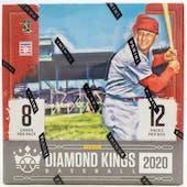 2020 Panini Diamond Kings Baseball Hobby Box