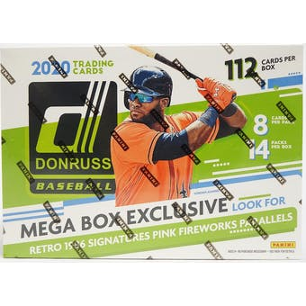 2020 Panini Donruss Baseball Mega Box