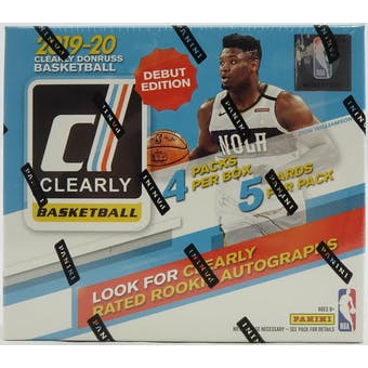 2019/20 Panini Clearly Donruss Basketball Hobby Box