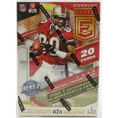 2020 Panini Donruss Elite Football 4-Pack Blaster Box