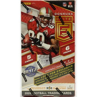 2020 Panini Donruss Elite Football Tmall Edition Hobby Box