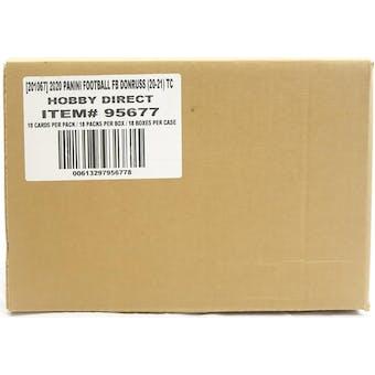 2020 Panini Donruss Football Hobby 18-Box Case