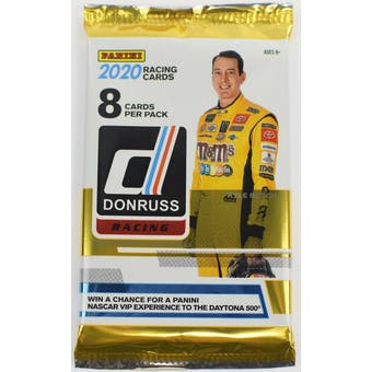2020 Panini Donruss Racing Hobby Pack