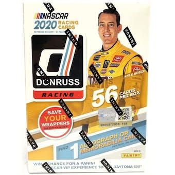 2020 Panini Donruss Racing Blaster Box