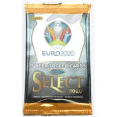 2019/20 Panini Select UEFA Euro Soccer Hobby Pack (Lot of 2)