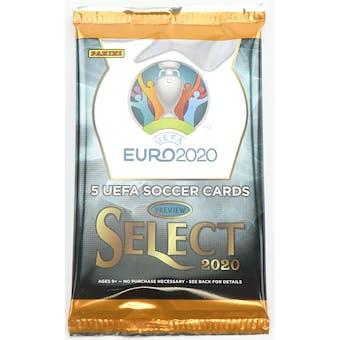 2019/20 Panini Select UEFA Euro Soccer Hobby Pack (Lot of 2)