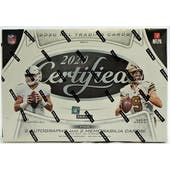 2020 Panini Certified Football Hobby 12-Box Case