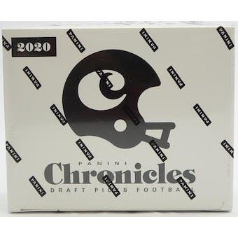 2020 Panini Chronicles Draft Picks Football Fat Pack Box (12 Ct.)