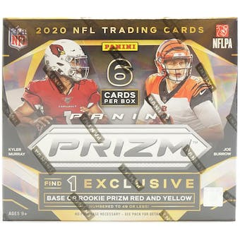 2020 Panini Prizm Tmall Football 4-Box- DACW Live 32 Spot Random Team Break #1