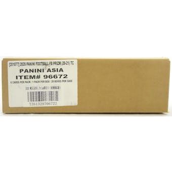 2020 Panini Prizm Tmall Football Hobby 20-Box Case