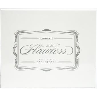 2020/21 Panini Flawless Collegiate Basketball Hobby Box