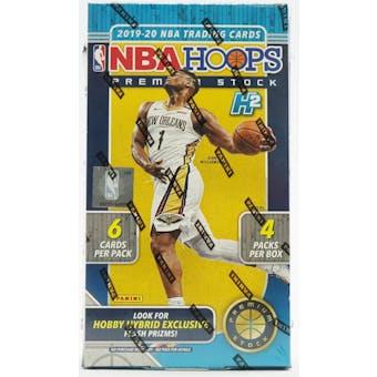 2019/20 Panini Hoops Premium Stock Basketball Hobby Box