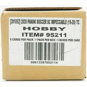 2019/20 Panini Impeccable Soccer Hobby 3-Box Case
