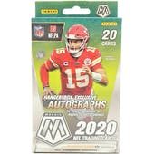 2020 Panini Mosaic Football Hanger Box (Reactive Orange Parallels)
