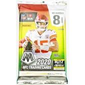 2020 Panini Mosaic No Huddle Football Hobby Pack