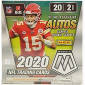 2020 Panini Mosaic Football Mega Box (Walmart)