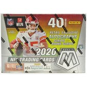 2020 Panini Mosaic Football 10-Pack Mega Box (Target)