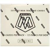 2019/20 Panini Mosaic Basketball Multi-Pack Box
