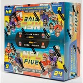 2020 Panini NFL Five Football Trading Card Game Booster Box