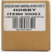 2019/20 Panini Noir Basketball Hobby 4-Box Case