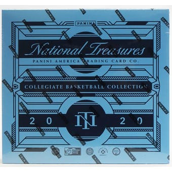 2020/21 Panini National Treasures Collegiate Basketball Hobby Box