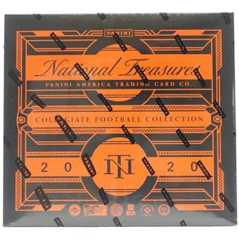 2020 Panini National Treasures Collegiate Football Hobby Box