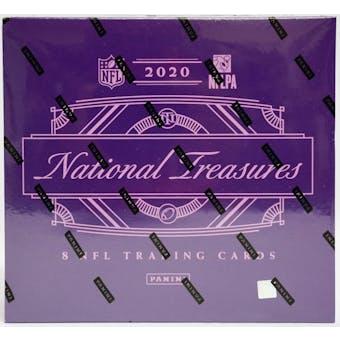 2020 Panini National Treasures Football Hobby Box