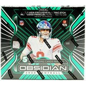 2020 Panini Obsidian Tmall Edition Football Hobby Box