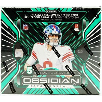 2020 Panini Obsidian Tmall Edition Football Hobby Box
