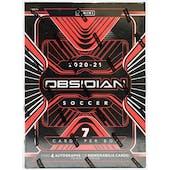 2020/21 Panini Obsidian Soccer Hobby Box
