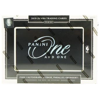 2019/20 Panini One and One Basketball 3-Box- DACW Live 6 Spot Random Divison #4