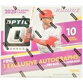 2020 Panini Donruss Optic Choice Baseball Hobby Box