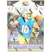 2020 Panini Origins Football 1st Off The Line Hobby Box
